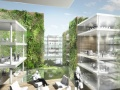 Menzione speciale - Office building with green hypercore, Milan, Italy