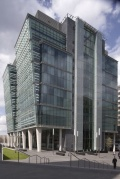 One SnowHill, Birmingham UK Progettista Sidell Gibson Architects, London