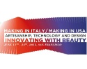 Progetto Making in Italy – Making in USA