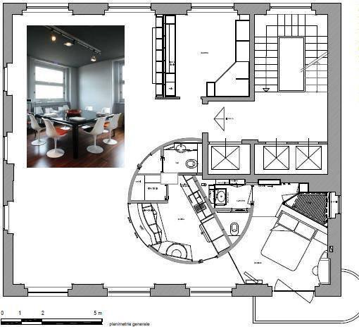 Casa privata a torino - Planimetria della casa ...