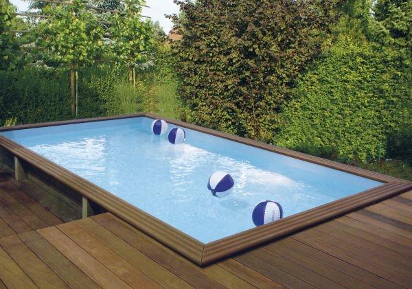 piscine residenziali linea in legno. Black Bedroom Furniture Sets. Home Design Ideas