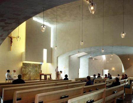 Cappella di Sant'Ignazio, Seattle, Washington – Steven Holl, 1996-1998