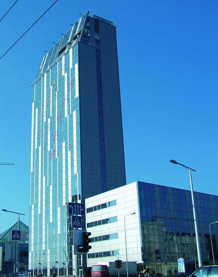 L'alluminio Windy® di Novelis per il municipio di Vilnius