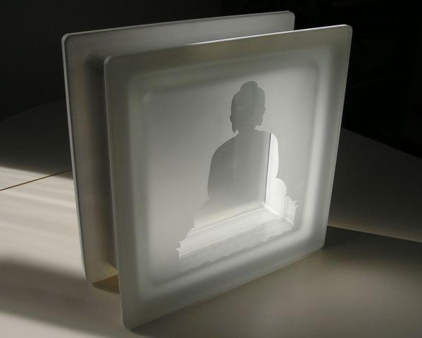 """Un mattone di vetro """"zen"""" per la Buddha Lecture Room a Thaichung, Taiwan"""