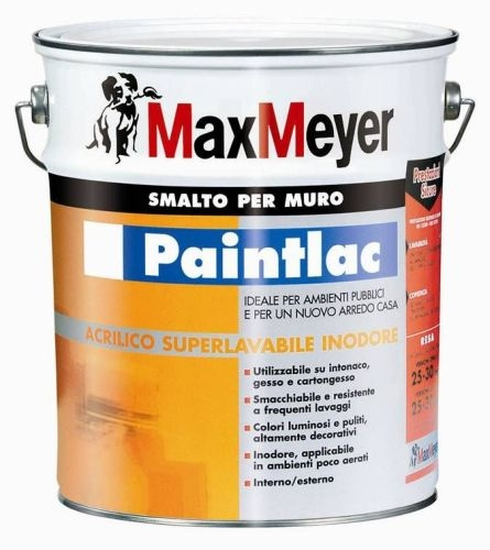 Smalto murale all'acqua Paintlac