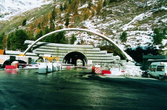 Mapei e Il traforo del Monte Bianco