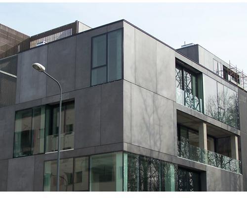 Edificio T – un corpo plastico e massivo per un blocco monumentale contemporaneo