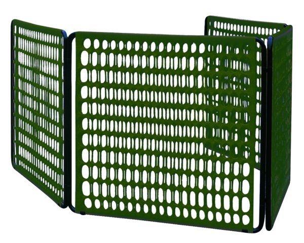 Nuova transenna tenax limit per il giardino - Recinzioni da giardino in pvc ...