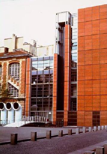 Renzo Piano: ampliamento Ircam – Parigi, 1987-1989