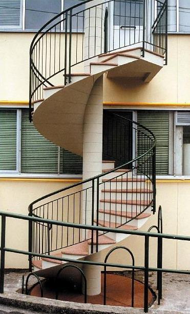 Grc quando il cemento si unisce alle fibre di vetro - Scale a chiocciola in cemento prefabbricate ...