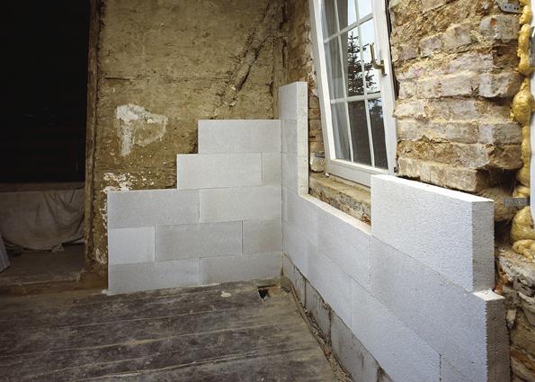 Gasbeton prodotto e sistema costruttivo - Consolidare fondamenta di una casa ...