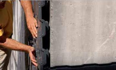 guaina impermeabile per muri controterra