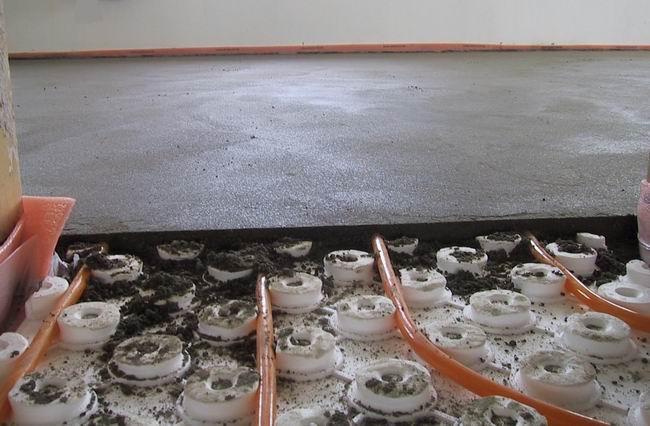 Spessore minimo per riscaldamento a pavimento