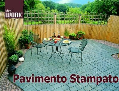 Calcestruzzo Stampato Palermo : Pavimento stampato
