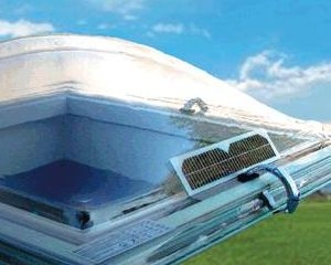 """Sistema di ventilazione naturale fotovoltaico """"Ecogy®"""""""