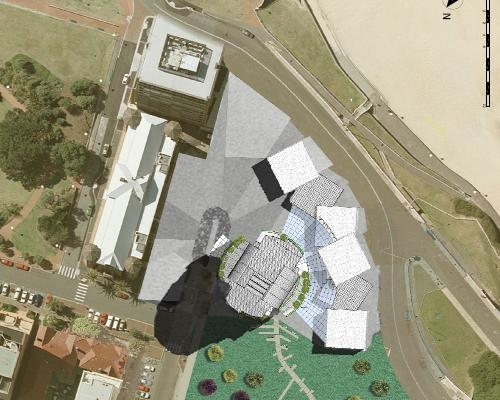 """Green wind tower"", grattacielo bioclimatico a Newcastle – Australia"
