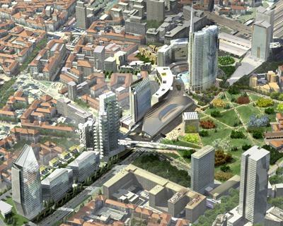 L'area Porta Nuova di Milano cambia volto
