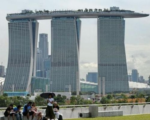Marina Bay Sands Resort, il contributo di Mapei