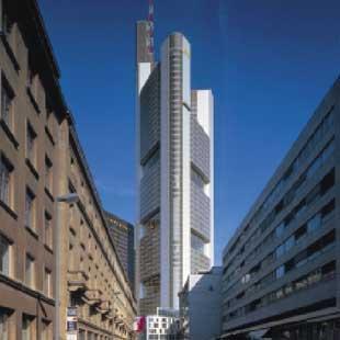 Sede centrale della commerzbank a francoforte for B b srl milano