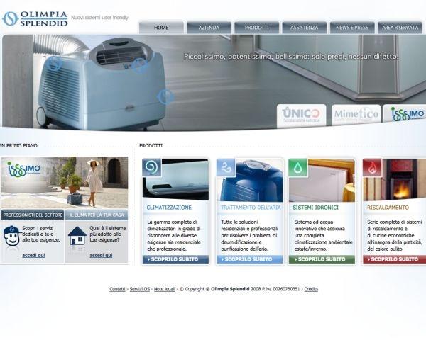 On line il nuovo sito Olimpia Splendid