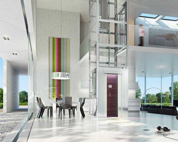 HE 7 Home Lift: tecnologia e design per la casa