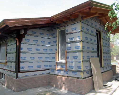 Isotec parete: isolamento termico delle facciate