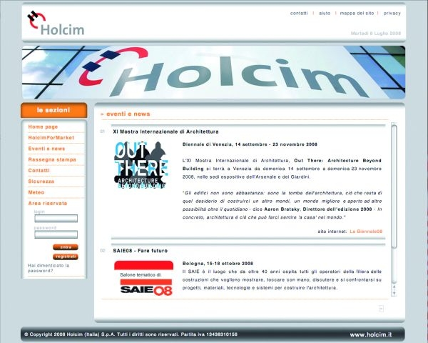 HolcimForMarket, il nuovo strumento interattivo per il mercato
