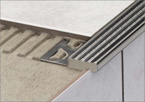 Trep profili per scale for Profili per gradini in acciaio