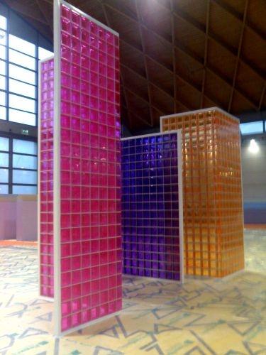 3 inedite nuance per i mattoni di vetro seves glassblock: arancio ...