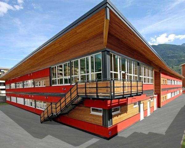 Un edificio sostenibile per l'I.S.I.P. di Aosta