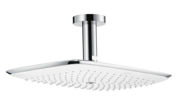 Puravida nuova linea di rubinetteria e docce hansgrohe - Soffione doccia a soffitto ...
