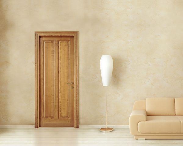Collezione Rodi: il calore della porta in legno massiccio