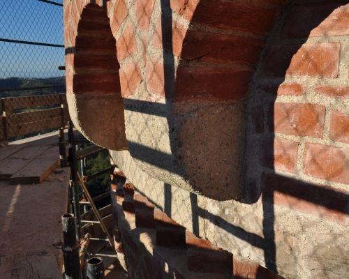 Restauro della Torre di Castellino Tanaro