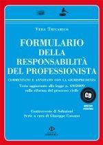 Formulario della responsabilità del professionista