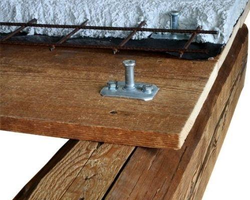 Rinforzare e irrigidire solai misti in legno calcestruzzo