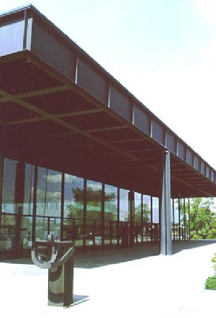 L. Mies van der Rohe: Neue Nationalgalerie – Berlino, 1962-1968