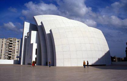 Chiesa della Divina Misericordia Roma, Italia – Richard Meier, 1998