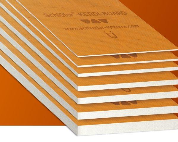 KERDI-BOARD di Schlüter-Systems per la posa dei rivestimenti ceramici