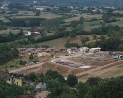 Villaggio Sanofi Aventis a L'Aquila, l'intervento di Uretek