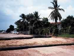 Stabilizzazione del terreno di fondazione per la realizzazione di una strada