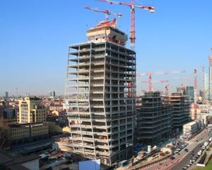 Il lavoro di cantiere per il nuovo volto di Milano
