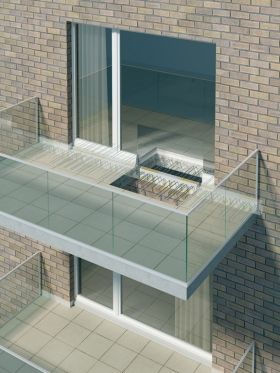 ISOLAMENTO TERMICO: Schöck Isokorb® per balconi a sbalzo