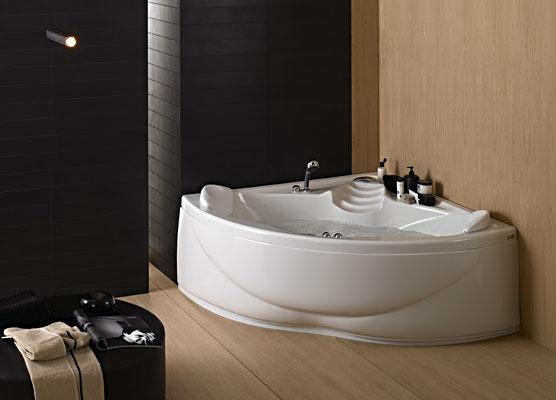 Vasche Da Bagno Angolari Asimmetriche : Vasche da bagno rettangolari e angolari con idromassaggio