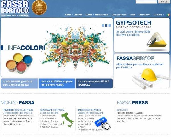 Il nuovo mondo web di Fassa Bortolo