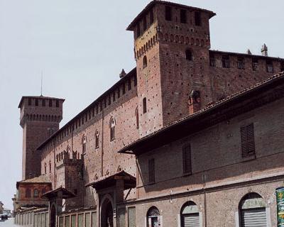 Il castello Visconteo di Sant'Angelo Lodigiano