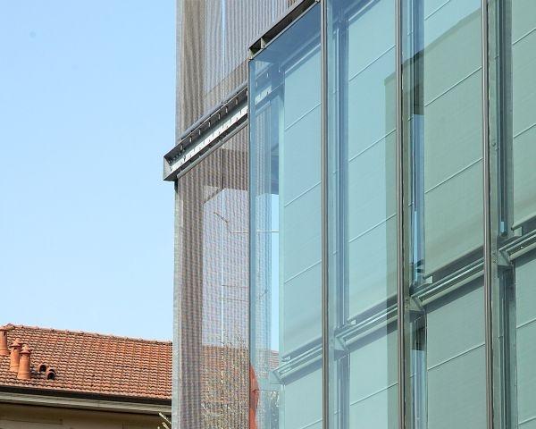 I tessuti metallici in architettura
