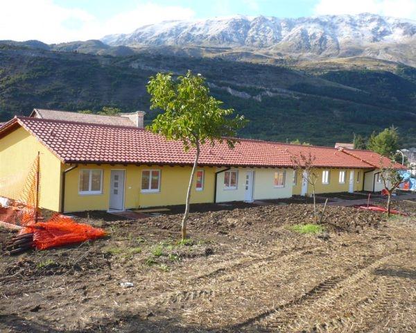 Haas per la ricostruzione in Abruzzo