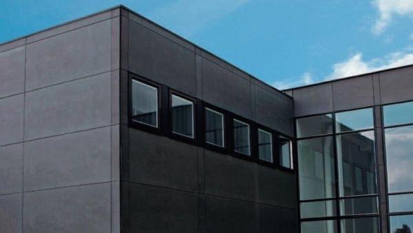 Lastre in fibrocemento per rivestimenti cembrit for Rivestimenti esterni in metallo per case