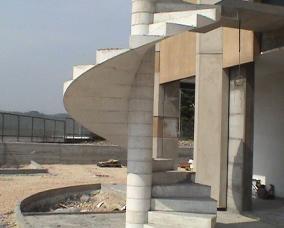 Grc glass reinforced concrete - Scale da esterno in muratura ...