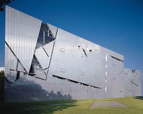 Zinco-Rametitanio per il Museo Ebraico di Berlino